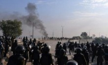 هدوء يشوبه توتر بين المتظاهرين وقوات الأمن بإسلام أباد