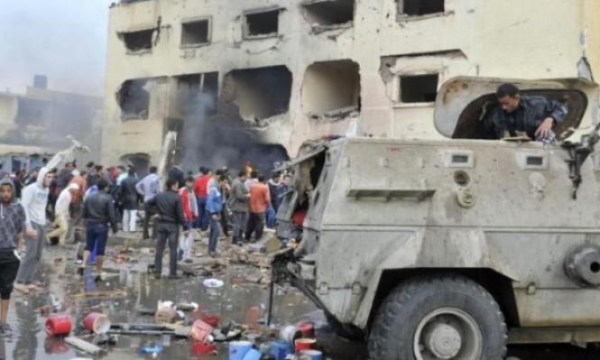 1165 عملية مسلحة منذ الانقلاب بمصر وتولي السيسي الرئاسة