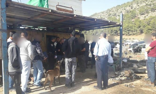 الشرطة تداهم محلات للخردة في إكسال ودبورية
