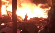 يافا: 15 إصابة و10 عالقين في انفجار تسبب بانهيار مبنى