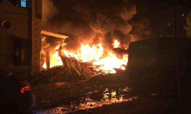 انفجار يافا: الشرطة تحقق بشبهة جنائية