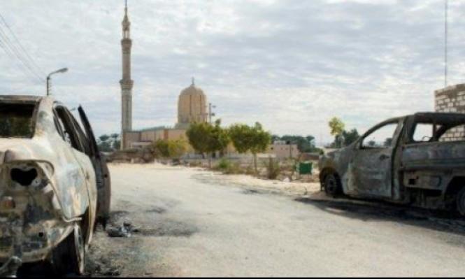 """""""مقتل 11 إرهابيا بعد 4 أيام على تفجير مسجد الروضة"""""""