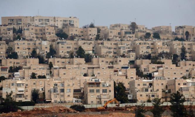 توسع استيطاني: توحيد مستوطنات والبناء في المساحات الواقعة بينها