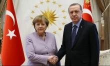 """""""الاتصال الأول بين ميركل وإردوغان منذ تصاعد التوتر"""""""