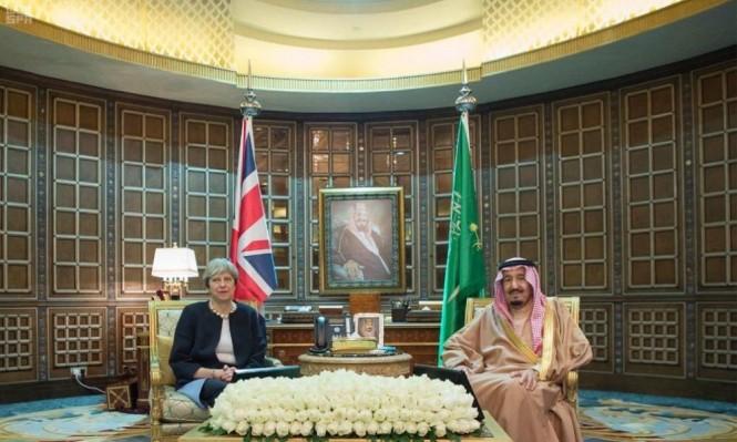 ماي تدعو السعودية لتخفيف الحصار عن اليمن