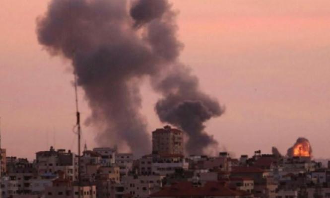 3 إصابات في استهداف طيران الاحتلال لمواقع بغزة