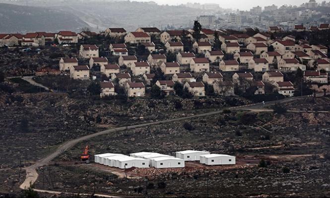 محطة للمياه العادمة للمستوطنات على أراض فلسطينية خاصة