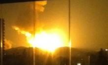 """قصف إسرائيلي يستهدف قاعدة """"إيرانية"""" قرب دمشق"""