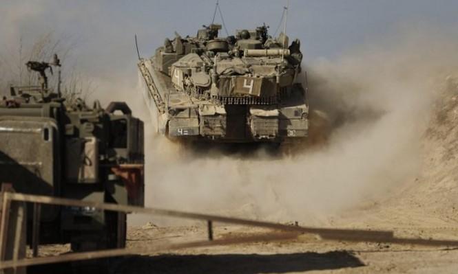 """الجيش الإسرائيلي يعلن """"غلاف غزة"""" منطقة عسكرية مغلقة"""