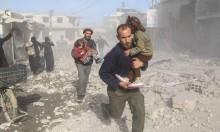 عشرات القتلى والجرحى بقصف طائرات سورية وروسية بالغوطة