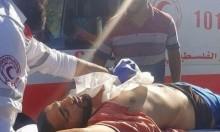 إصابة حرجة لفلسطيني بمواجهات مع الاحتلال بقصرة