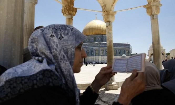 في باحات الحرم: 14 سيدة يحرسن المسجد الأقصى