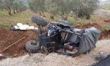 إصابة خطيرة لمسن في حادث قرب سخنين