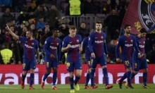 برشلونة يفوز على سبورتينغ لشبونة بهدفين نظيفين