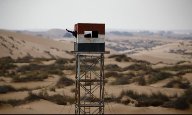 الجيش يبحث عن صواريخ أطلقت من سيناء على النقب