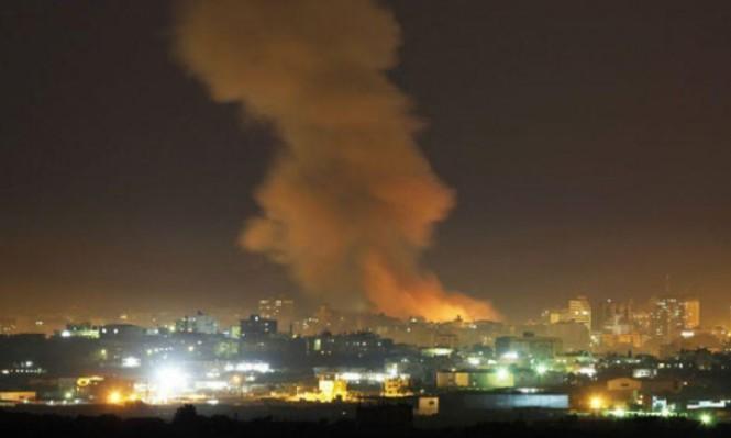 إسرائيل تقصف مركزا للبحوث العلمية بجمرايا قرب دمشق