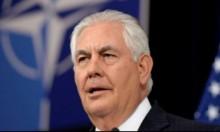 """تيلرسون يدعي تمسك ترامب بـ""""عملية السلام"""""""