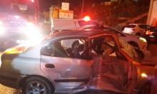 البعنة: 3 إصابات إحداها حرجة في حادث طرق