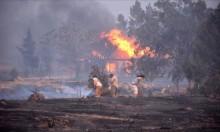 حرائق كاليفورنيا تجبر آلاف السكان على النزوح