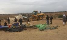 رغم الطقس العاصف:  إسرائيل تهدم العراقيب وتشرد أهلها للمرة 122