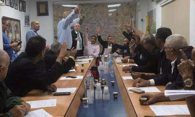 تفويض عامر الهزيل رئيسًا لبلدية رهط