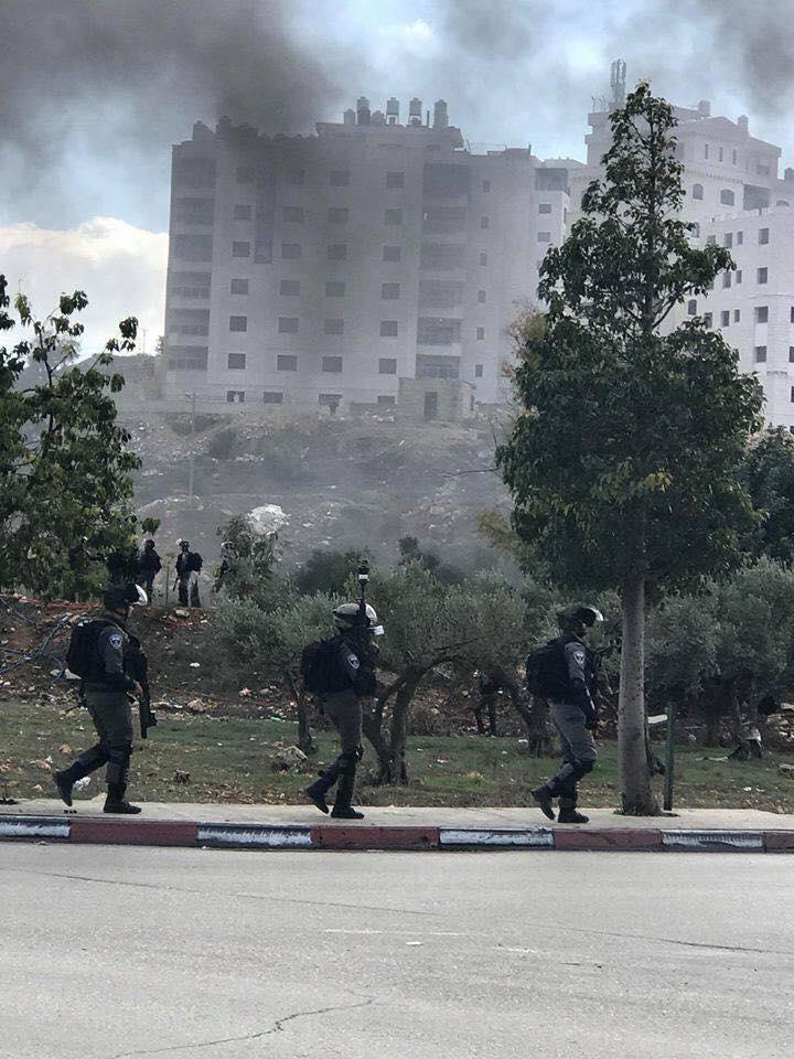 جرحى بمواجهات مع الاحتلال بغزة والضفة