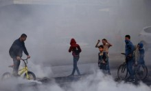 مواجهات وغضب في غزة منددة بإعتراف ترامب بالقدس عاصمة لإسرائيل