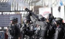 الشرطة الإسرائيلية تستخدم قنابل مسيلة للدموع لتفريق المتظاهرين