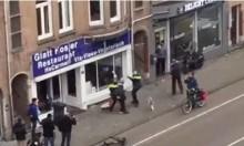 هولندا: شاب يحطم واجهة متجر يهودي بعد خطاب ترامب