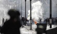 جنود جيش الاحتلال يسخدمون القوة لتفريق مظاهرات الغضب في الضفة الغربية