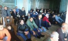 عارة: صلاة جمعة في بيت جزماوي المهدد بالهدم
