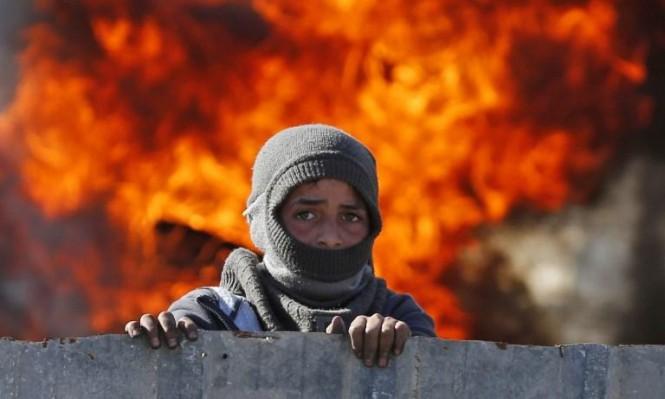 يوم الغضب الفلسطيني: شهيدان وقصف إسرائيلي على غزة