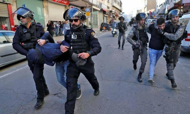 القدس: إصابات في صفوف شرطة الاحتلال بمواجهات مع المتظاهرين