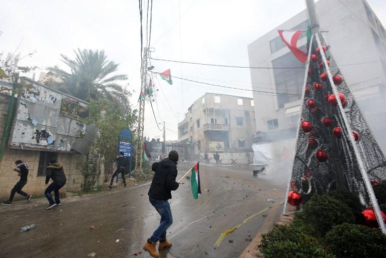 مواجهات بمحيط السفارة الأميركية ببيروت