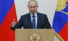 بوتين بقاعدة حميميم ويأمر بسحب جزء من قواته بسورية