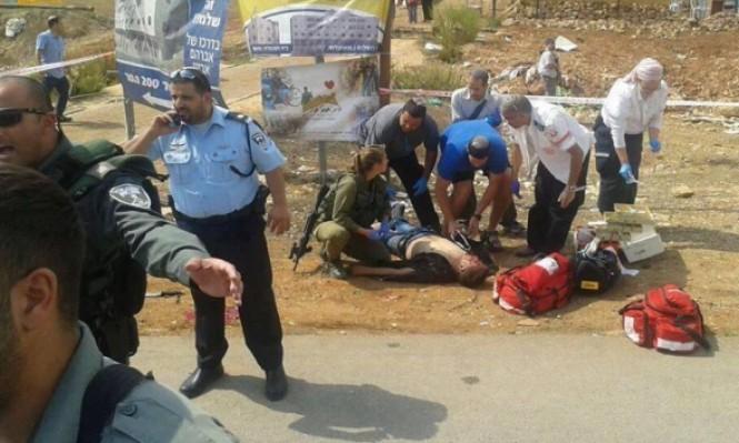 إصابة خطيرة لفلسطيني بنيران الاحتلال بمستوطنة أريئيل