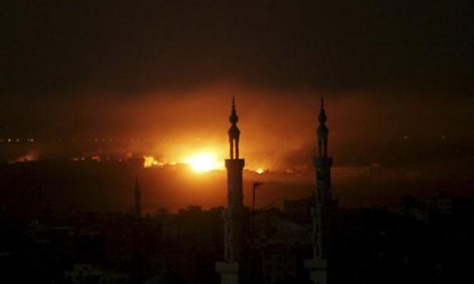 دبابات وطائرات الاحتلال تقصف عدة مواقع للمقاومة بغزة
