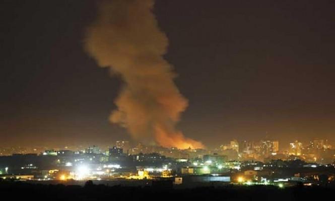 الطيران الحربي للاحتلال يقصف غزة لليوم الثالث على التوالي