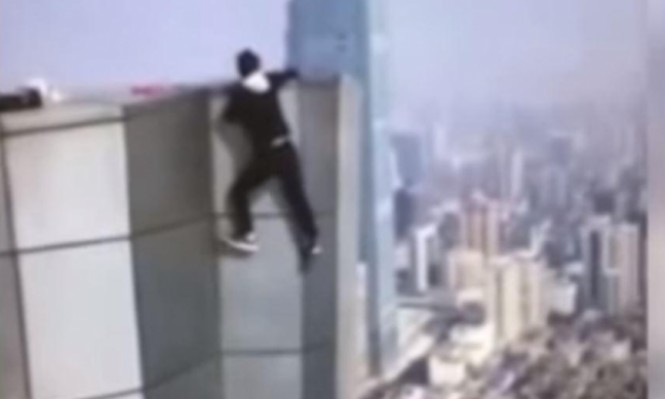 فيديو: مصرع متسلق ناطحات صيني بعد سقوطه من الطابق الـ62