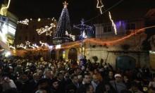 القدس المحتلة: إلغاء الاحتفال بإضاءة شجرة الميلاد