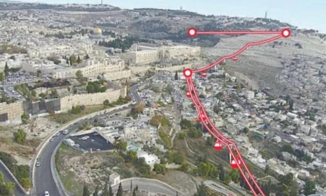 الاحتلال يناقش مشروع القطار الهوائي والأرضي بالقدس
