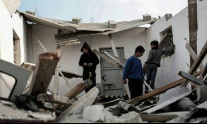 سلسلة غارات جوية على قطاع غزة