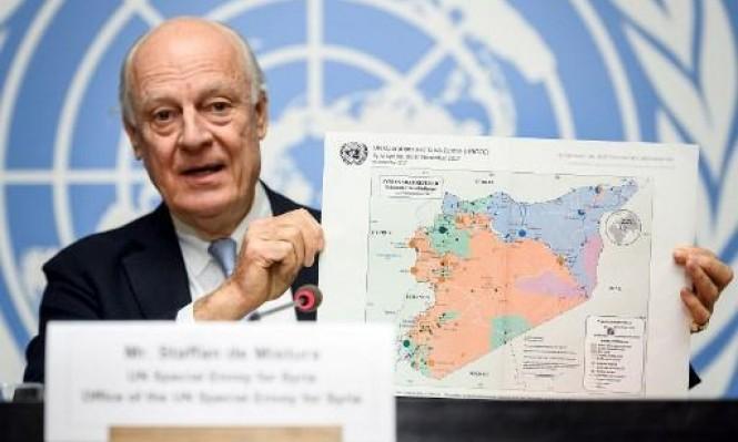 دي ميستورا: لم تكن المفاوضات جدية لعدم رغبة النظام بالحوار