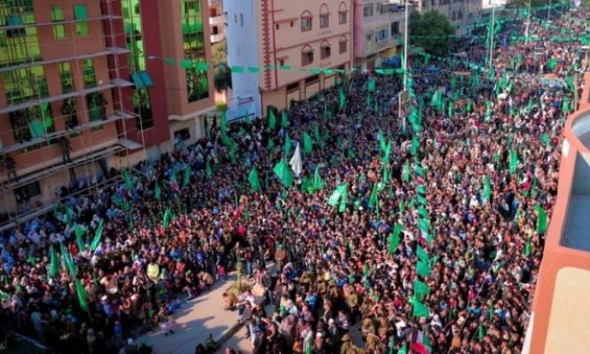 حماس تتمسك بالمقاومة وتصر على الوحدة بانطلاقتها الـ30