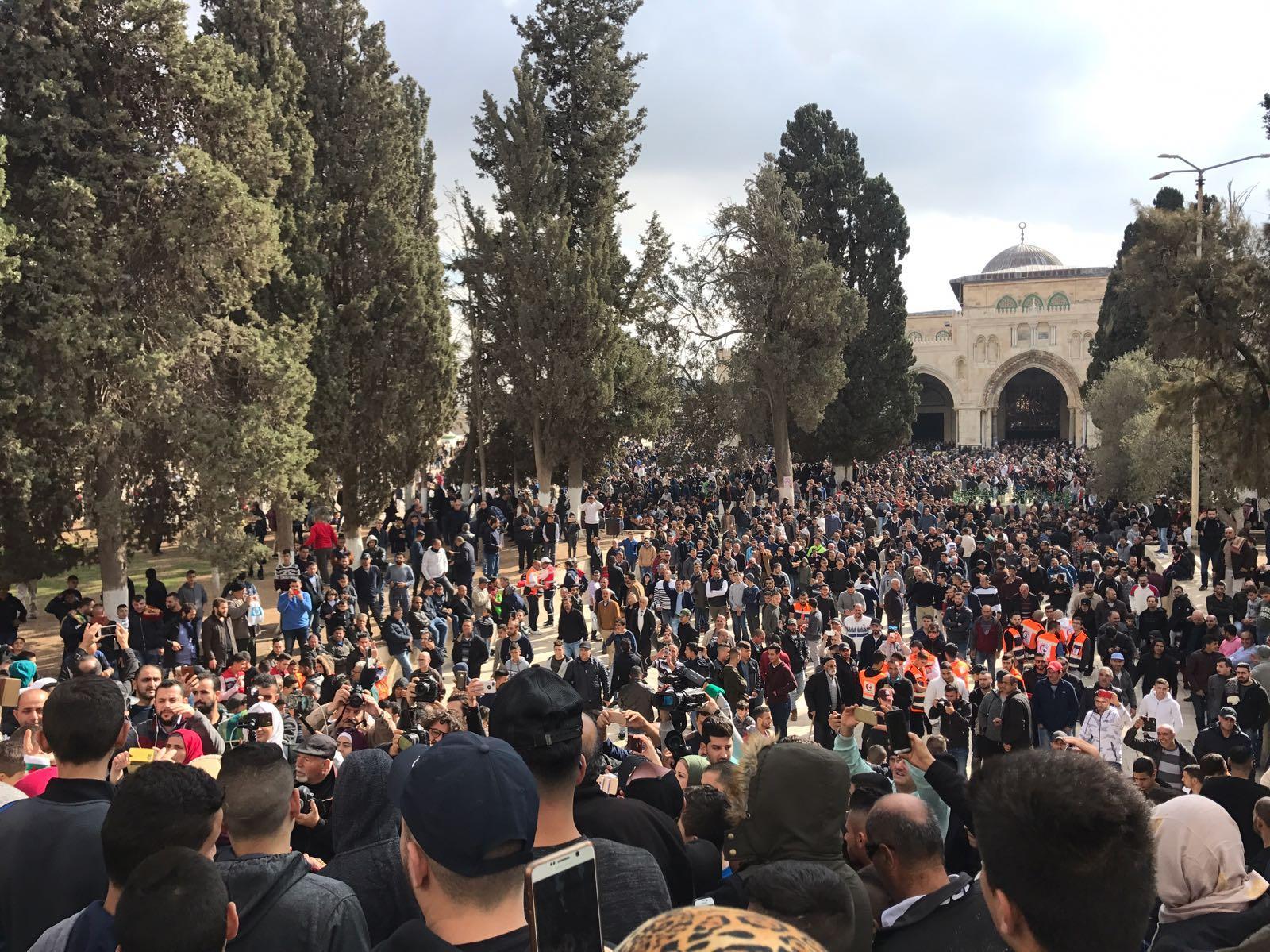 مواجهات مع الاحتلال رفضًا لإعلان ترامب