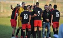ن.ر دبورية يفوز على هـ. صندلة بعشرة لاعبين