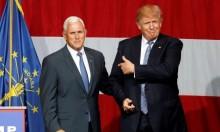 بينس يزور حائط البراق كنائب للرئيس الأميركي