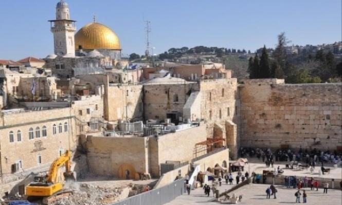 الرئاسة الفلسطينية ترفض اعتبار حائط البراق جزءا من إسرائيل