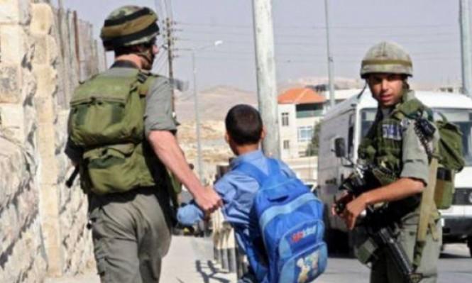 جنود الاحتلال يعتقلون طفلا (6 أعوام) بالجلزون