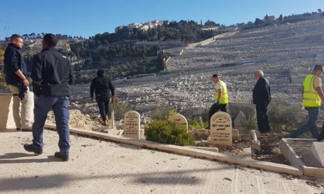 قرار مؤقت يمنع الاحتلال التجريف بمقبرة الرحمة بالقدس